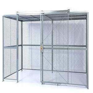Hinged-door Wire Cage Enclosures