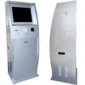 Metal Computer Kiosk Cabinet