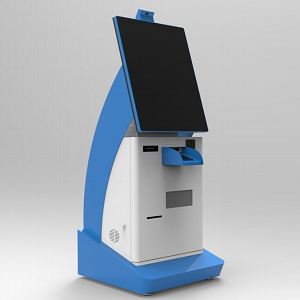 Multi- touch Computer Kiosk Cabinet