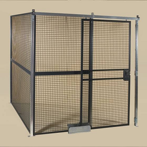 Powder-Coated Wire Cage Enclosures
