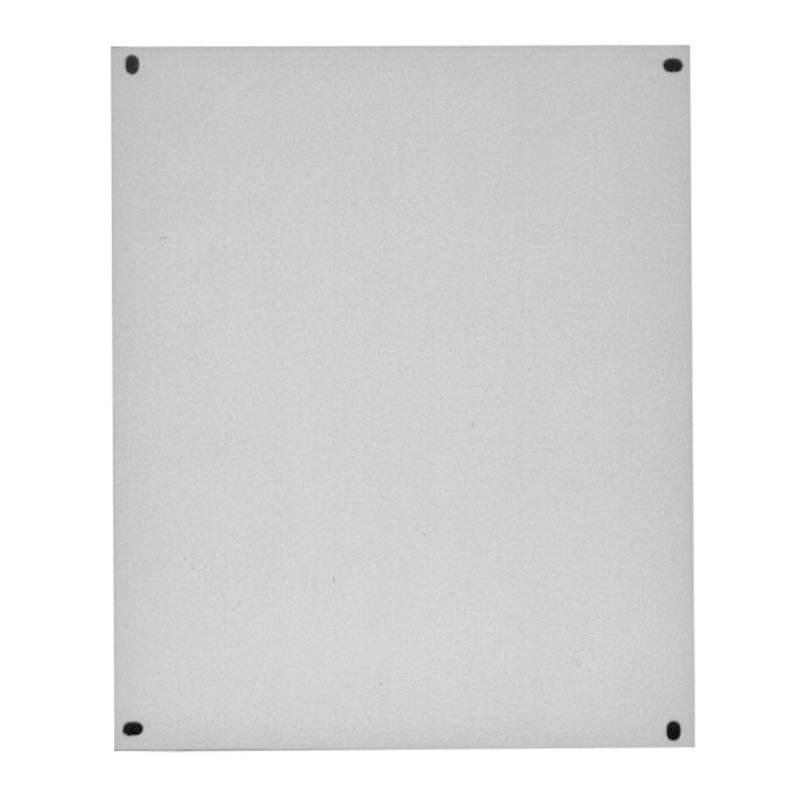 Painted Steel Solid Electrical Enclosure Backplate