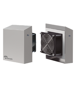 Stainless Steel IP55 Electrical Enclosure Fans