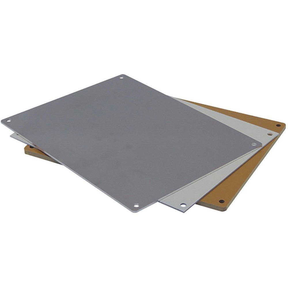 Coated Aluminum Electrical Enclosure Backplate
