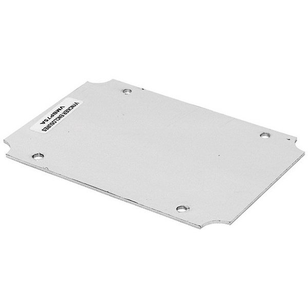 Aluminum VM Style Electrical Enclosure Backplate