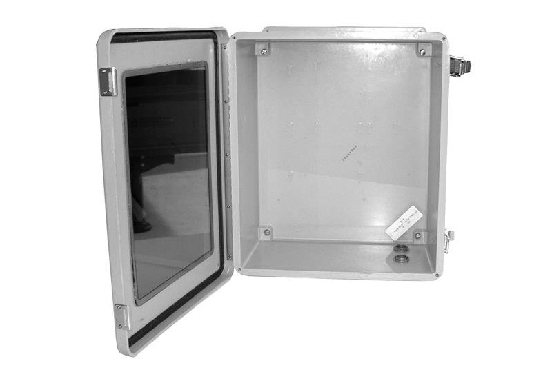 Wall-Mounted NEMA Rated with Window Wireless Enclosure