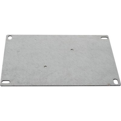 Galvanized Steel Electrical Enclosure Backplate