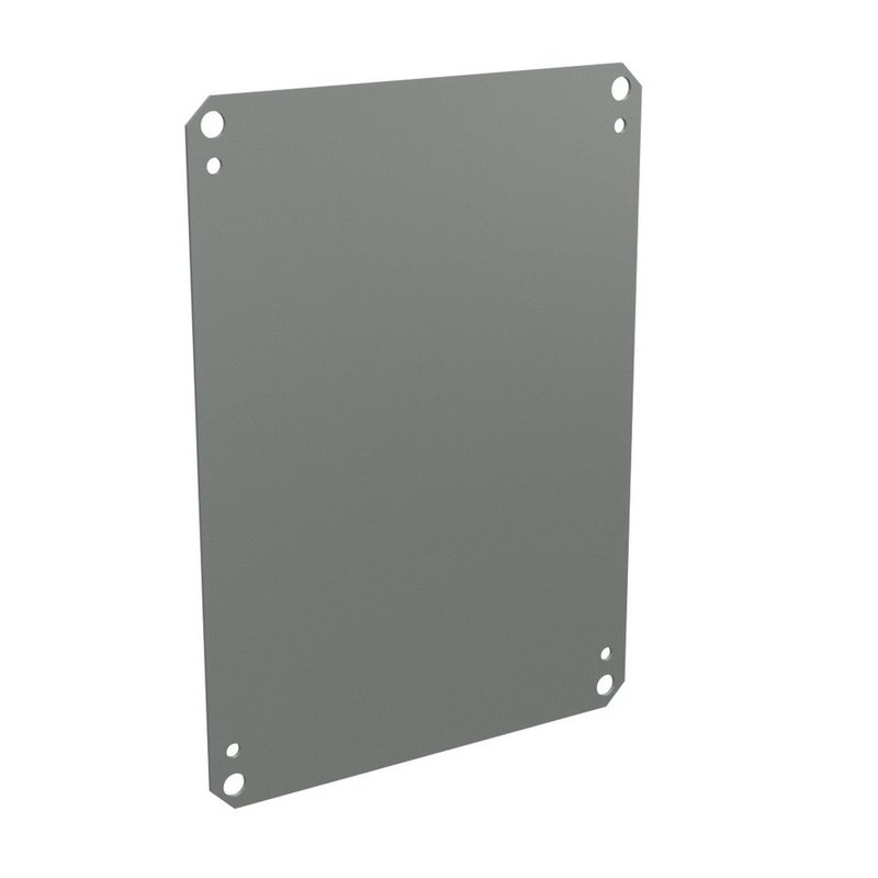 Carbon Steel Solid Electrical Enclosure Backplate