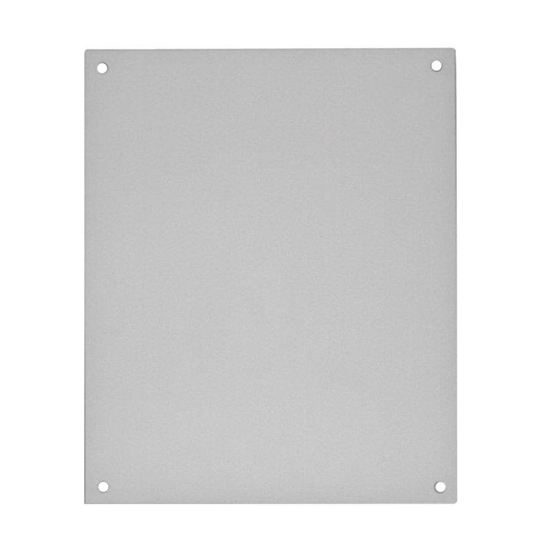 Painted Steel Electrical Enclosure Backplate