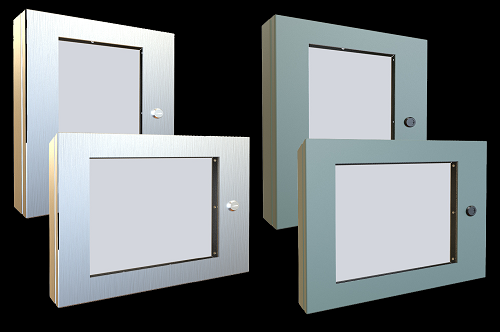 Electrical Enclosure Window Kits