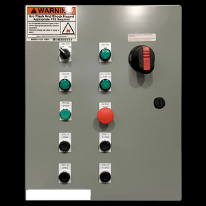 Hydraulic Power Pack Control Panel