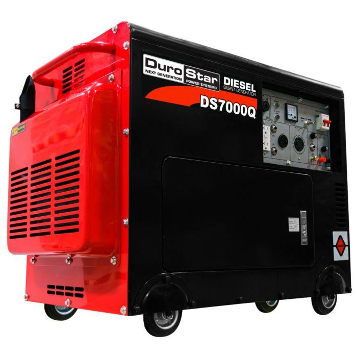 Portable diesel generator enclosure