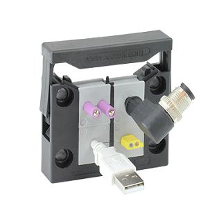 Split IP 54 Enclosure Cable Entry