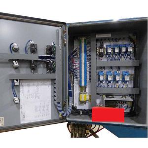 Three Phase Hydraulic Control Panel