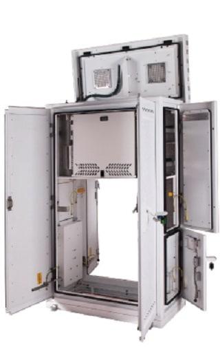Custom telecommunications enclosure