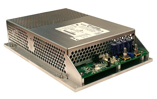 Conduction cooled power supply enclosure