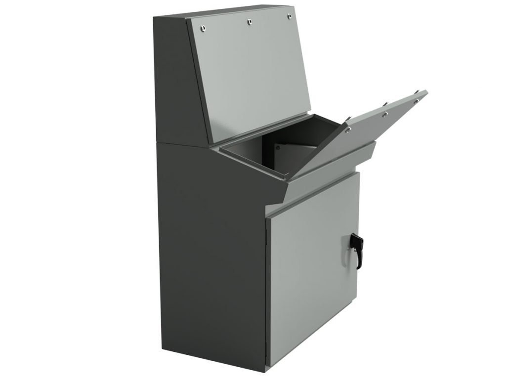 IP 54 desk console enclosure