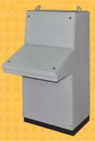 Desk console enclosure