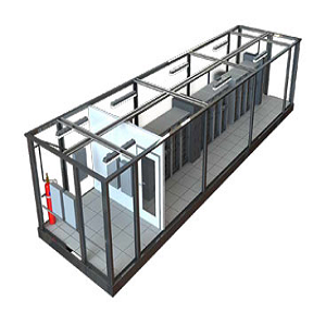 Modular Enclosures for Power Infrastracture