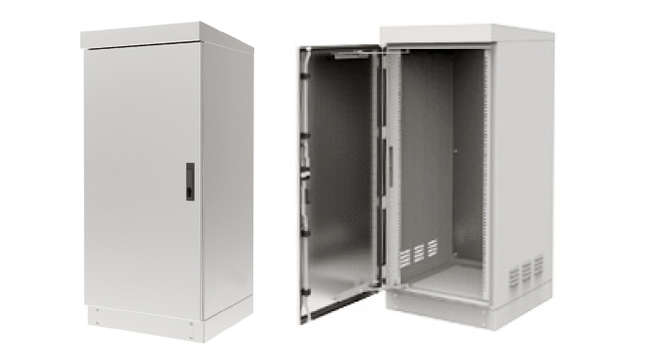 Stainless steel telecom cabinet