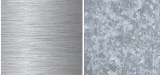 Stainless steel vs. galvanized steel