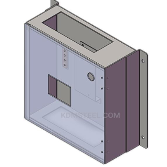 Wall-mounted enclosure