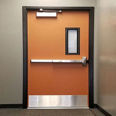 20 minutes fire rated door with window