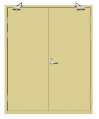 Self-closed 90 Minute Fire Rated Doors