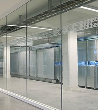 Clear 6mm 90 Minute Fire Rated Doors