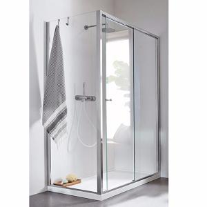 Sliding Door Corner Shower Enclosure