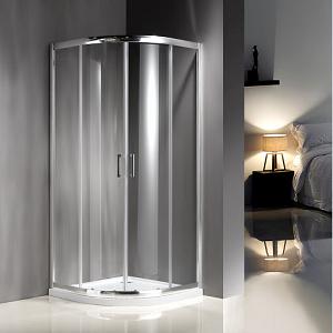 Tempered Glass Corner Shower Enclosure