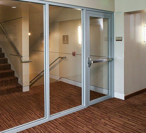 Glass 90 Minute Fire Rated Door