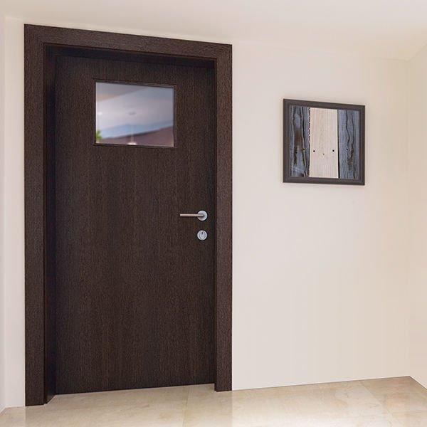 Interior 90 minute fire rated door