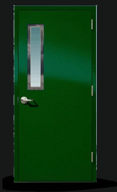 20-Minute Fire-Rated Fiberglass Door
