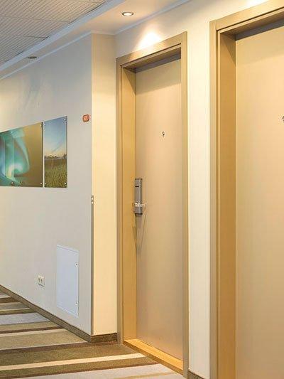 20-Minutes Fire-Rated Exterior Door