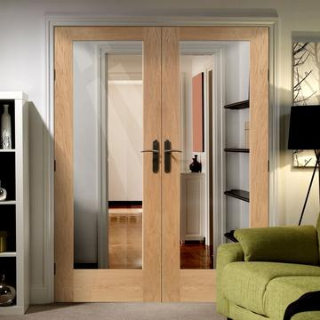 20-Minutes Fire-Rated French Door