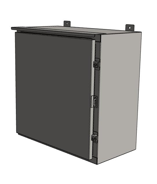 Custom Small Aluminum Wall Mounted Junction Box