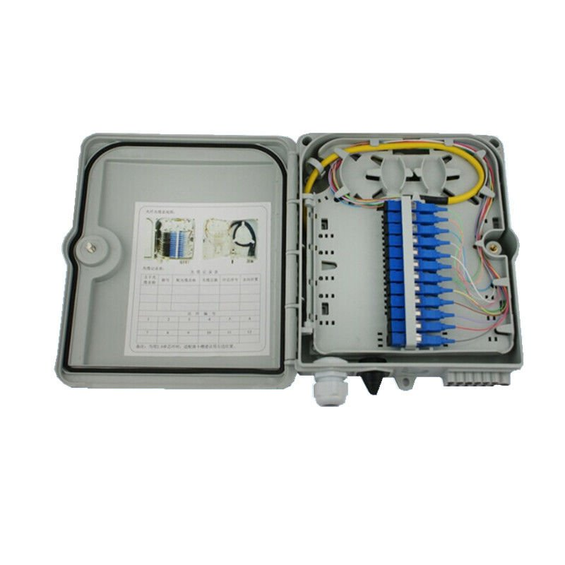 Fiber Optic Service Communications Enclosure
