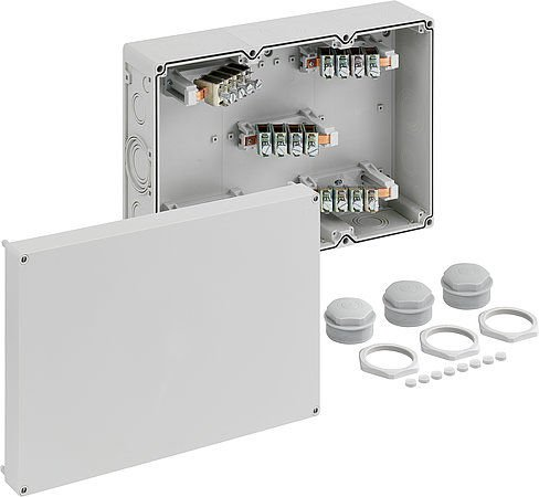 IP20 Wall Mounted Junction Box