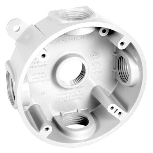Round Wall Mounted Junction Box