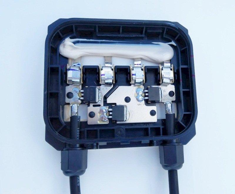 Solar Battery Junction Box