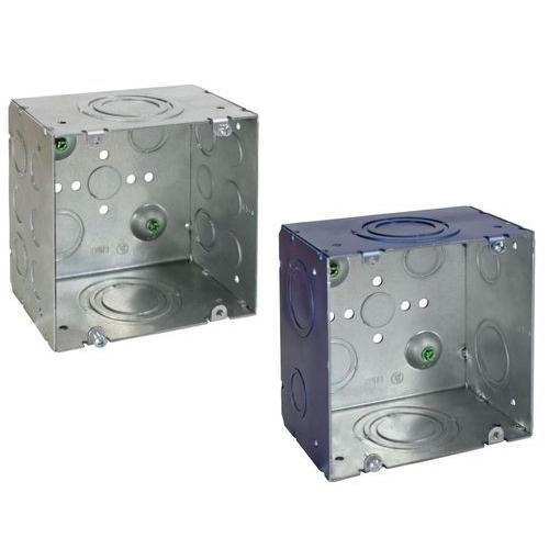 Square Metal Junction Box