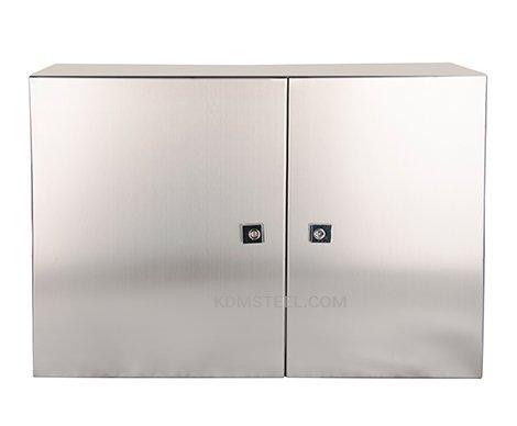 Tower-Mount-double-door-control-cabinet-enclosure