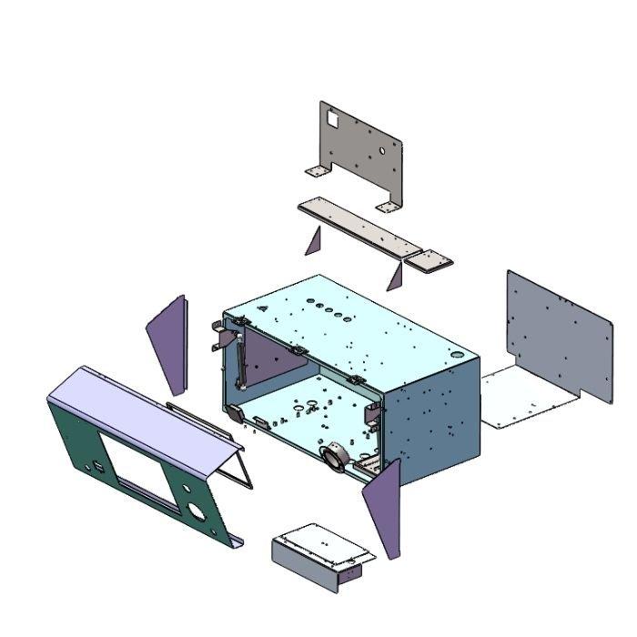 Custom IP45 Enclosure