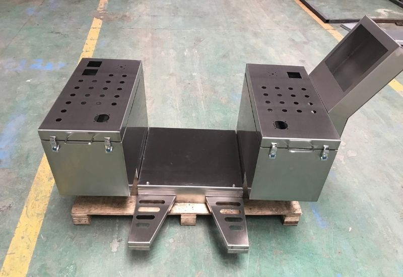 Custom Made Stainless Steel Tool Box