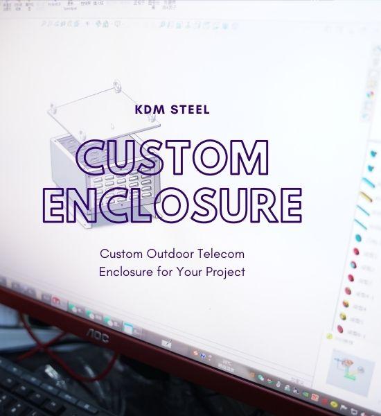 Custom Outdoor Telecom Enclosure design