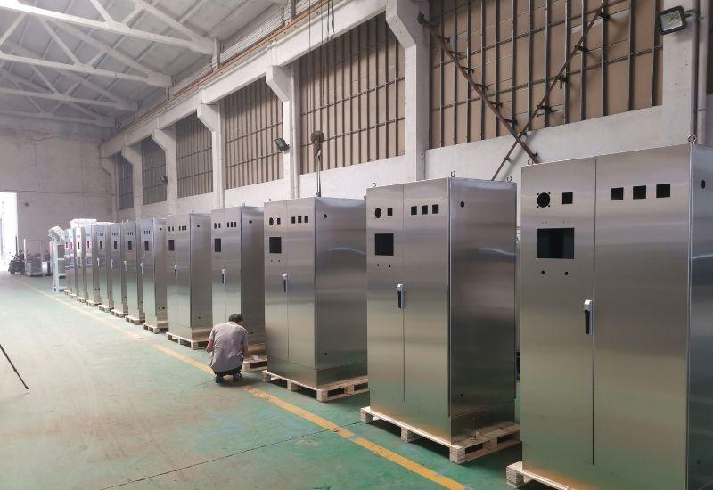 Custom Stainless Steel Electrical Enclosures