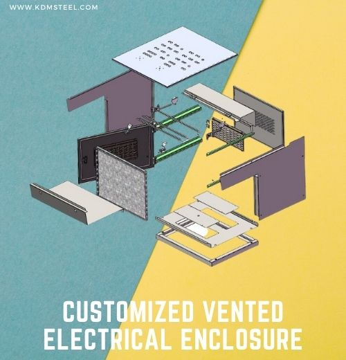 Customized Vented Electrical Enclosure