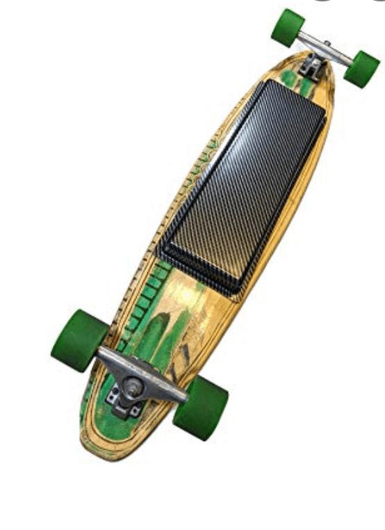 Electric skateboard battery box