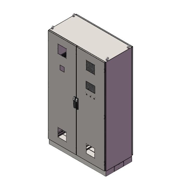 Electrical Enclosure with Air Vent