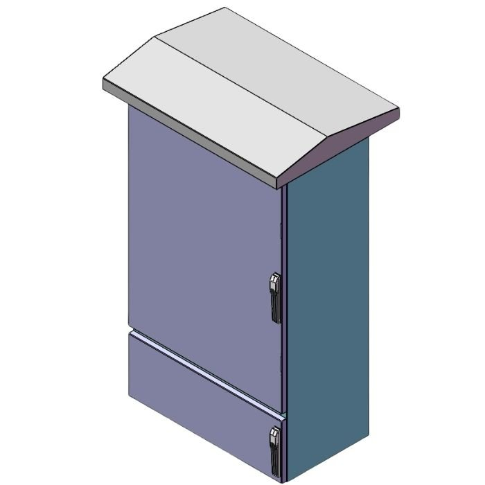Electrical Enclosure with Canopy